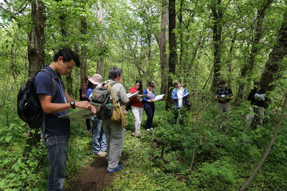 NatureServe Network staff learning NatureServe's core standards and methodologies, in the field.
