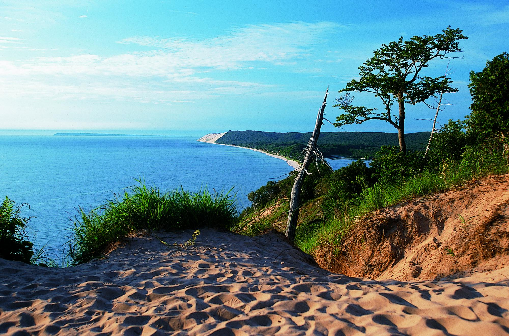 Empire Bluff in Sleeping Bear Dunes National Lakeshore, site of BWB 2015's field trip | Photo courtesy of Traverse City Tourism