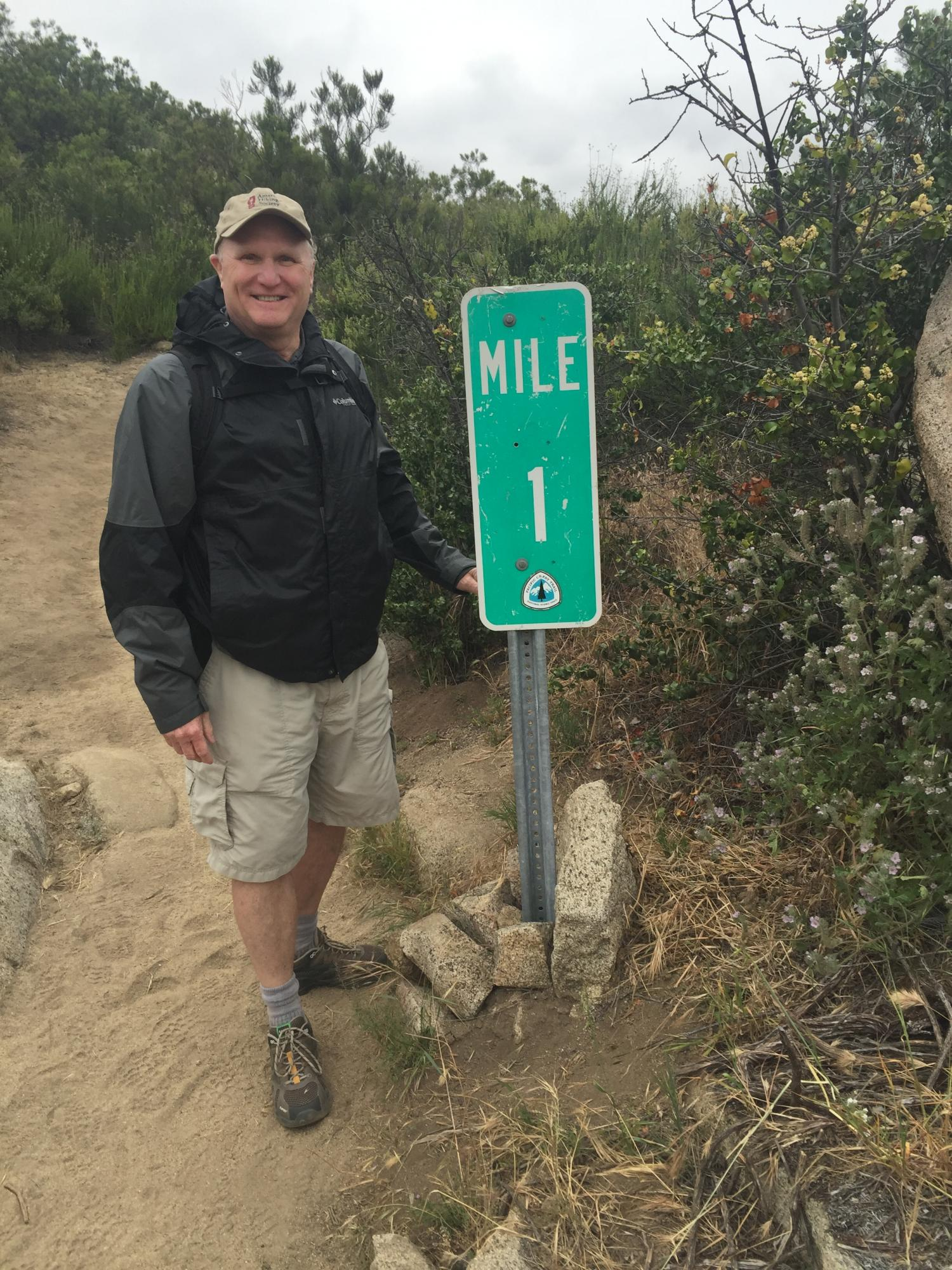 Taken May 2016 on the Mexican border at mile 1 of the Pacific Crest Trail which goes from Mexico to Canada