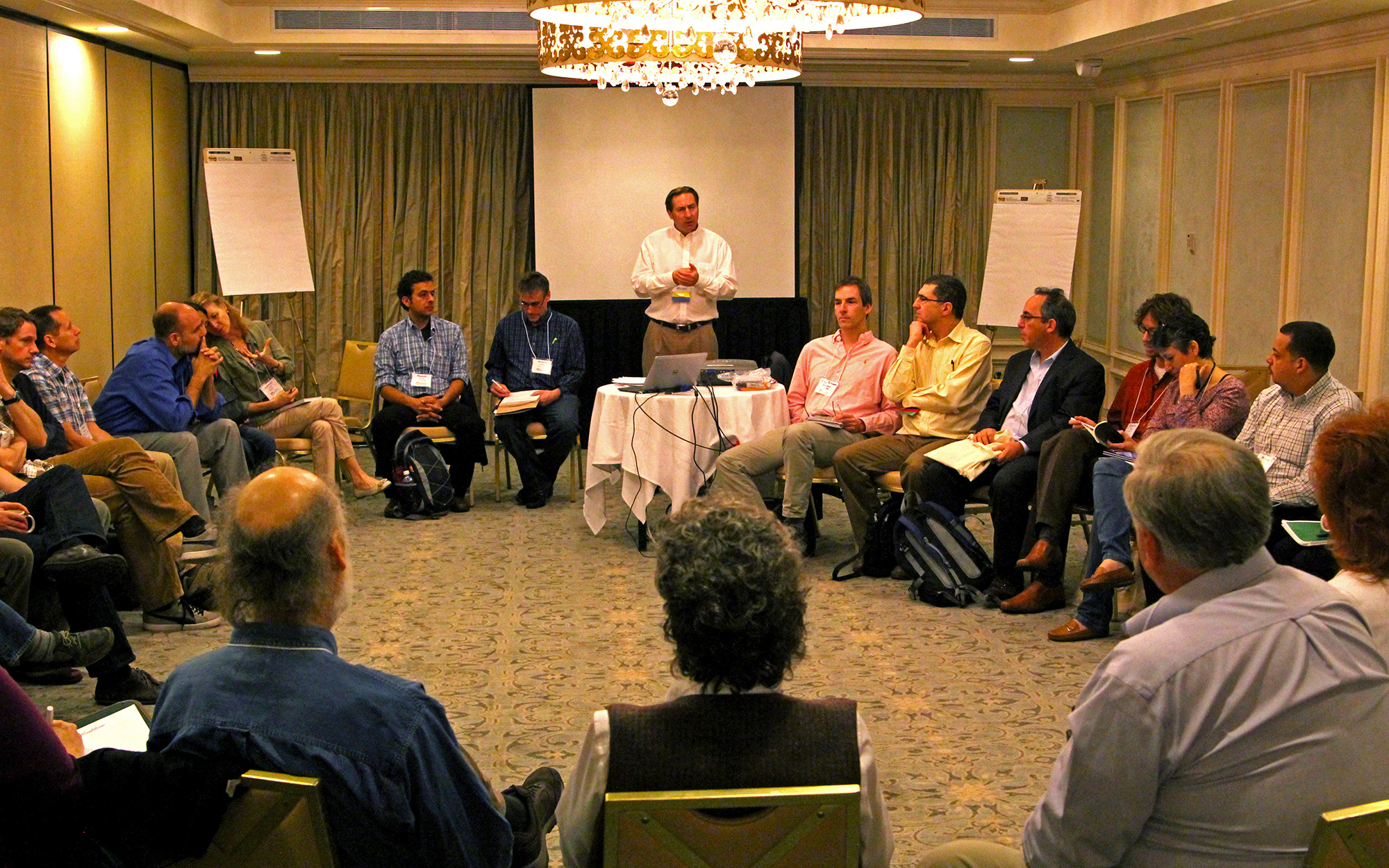 Dozens of sessions and workshops at Biodiversity Without Boundaries 2014 gave rise to discussions that will help plot out the future of conservation science.