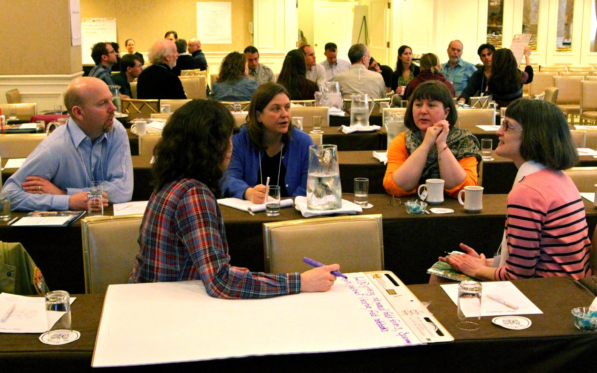 NatureServe Network members and collaborators devoted a full day of brainstorming and deliberation over citizen science at Biodiversity Without Boundaries 2014.
