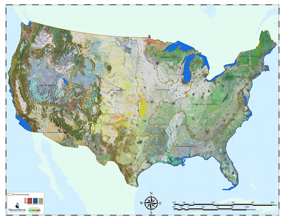 Terrestrial Ecological Systems of the United States NatureServe