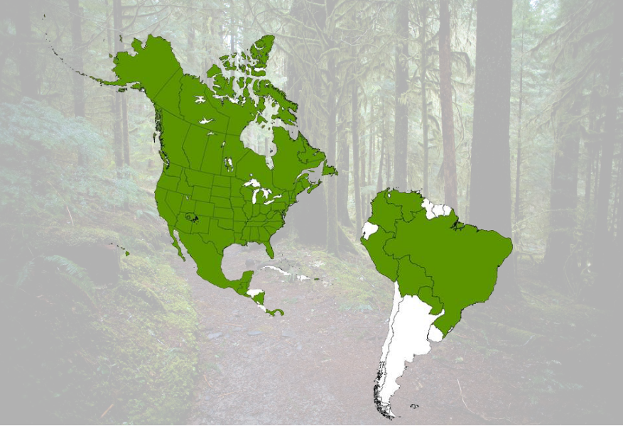 NatureServe Network Program - geographic reach