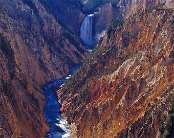 Grand Canyon of the Yellowstone © Michael Menefee