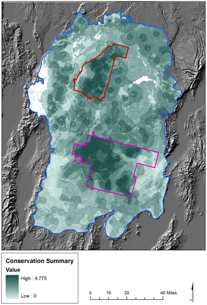 Conservation values of the Sheldon-Hart National Wildlife Refuges and their surrounding landscape, northwestern Nevada and southern Oregon