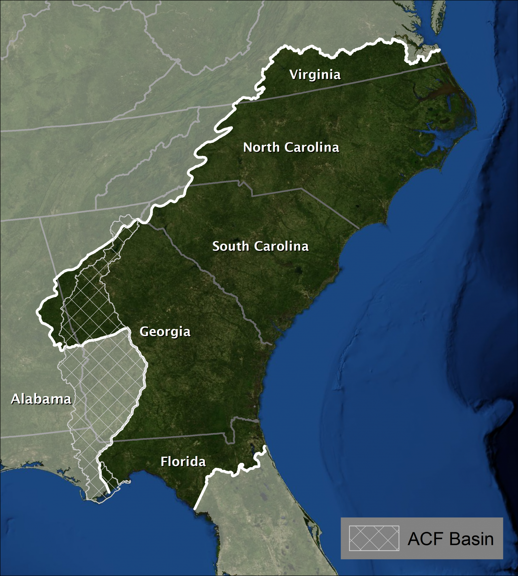 The South Atlantic LCC covers a wide expanse of piedmont and coastal plains from southern Virginia to northern Florida.